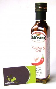 Monini Oliwa z oliwek Czosnek i Chili 250ml